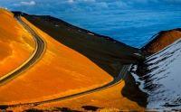 Road to Mauna Kea, Big Island, Hawaii