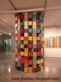 Cube Column at UTS Gallery, June 2015