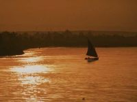 River Nile at Sunset