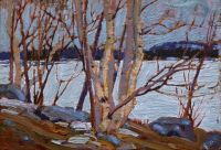 An Ice Covered Lake by Tom Thomson