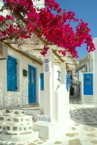Blue Door, Mykonos