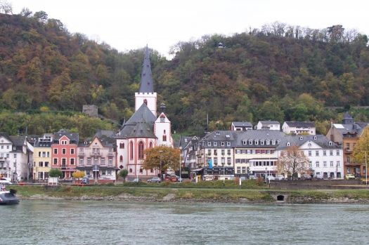 Sailing down the Rhine Valley