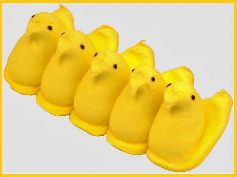 THEME ~ Yellow . . . . . Peeps