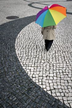 her umbrella, by Pedro Moura on flickr