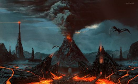 Volcanoes and dragons