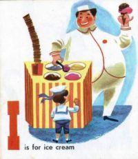Alphabet I For Ice Cream on National Ice Cream Day