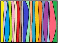 061418 Not Geometric Wavy Stripes