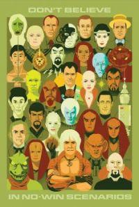 Star Trek 50 Years No-Win Scenarios by Christenson