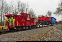 2rd largest train car  special built