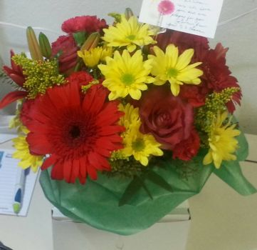 Nice Flowers for My Wife After Surgery