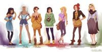Hipster Princesses 2