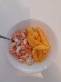 Christmas breakfast, Queensland style.