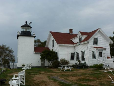 Fort Point Lighthouse, ME