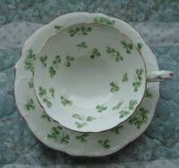 Shamrock Tea Cup