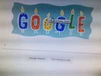 Google Birthday wishes