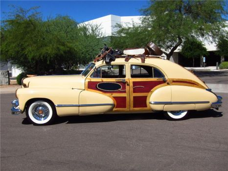 1946 CADILLAC SERIES 62 4 DOOR SEDAN WOODY