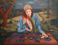 the gypsy tarot card reader