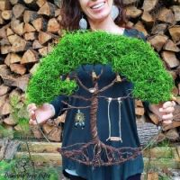 18 Inch Mossy Tree of Life