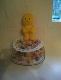 Knitted jelly baby