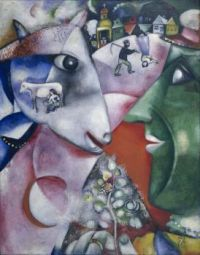 I and the village - Marc Chagall - 1911