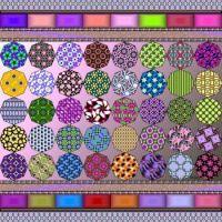 Potpourri357 - Octagons plus - XLarge - rj