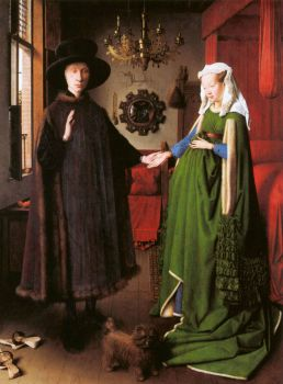 The Arnolfini Marriage - Jan van Eyck