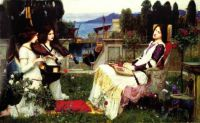 """Saint Cecilia"" (1895) by John William Waterhouse."
