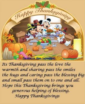 Happy Thanksgiving My Friends 12 Pieces Jigsaw Puzzle