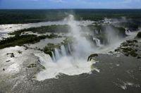 Iguazu Waterfalls Misiones Province Argentina and Brazil Photograph by YANN ARTHUS BERTRAND