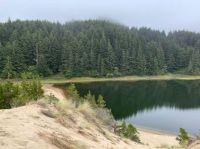 3-Mile Lake Along the Oregon Coast