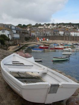 Boats at Mousehole, Cornwall