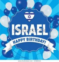 HAPPY BIRTHDAY ISRAEL!