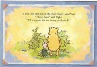 Pooh and Piglet, True Friendship