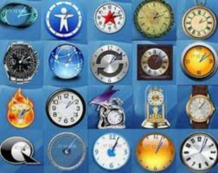 THEME: Clocks: collage