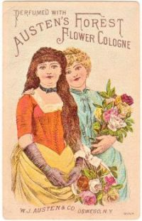 Themes Vintage ads - Austen`s Forest Flower Cologne