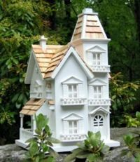Victorian Manor Bird House-weekly theme