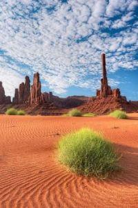 Totem Pole, Monument Valley Navajo Tribal Park, Arizona.  5808