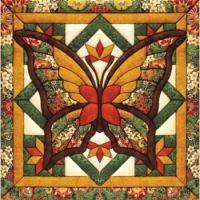 Mary Maxim's Fall Butterfly