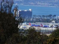 Airport with San Diego Bay