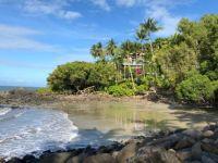 House on the beach, Port Douglas.