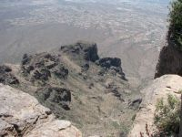 View to the SW from Flat Iron on Superstition Mtn.