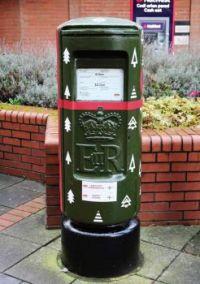 Christmas 2020 postbox