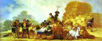 Goya - Summer, or The Harvest (1786)