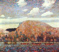 Sunny Day by Tom Thomson