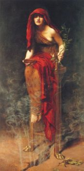 L'oracle de Delphes  John Collier