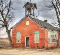 Abandoned Schoolhouse -- Ontario, Canada.....