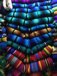 Hand Woven Blankets, Guatemala