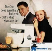 I'm Giving My Wife A Kenwood Chef