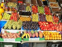 Fruit stall at market
