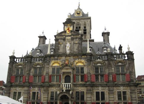 Town Hall Delft, Holland